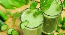 bebida casera verde adelgazar